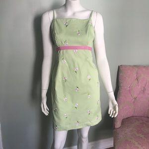 Lilly Pulitzer vintage 90s daisy dress